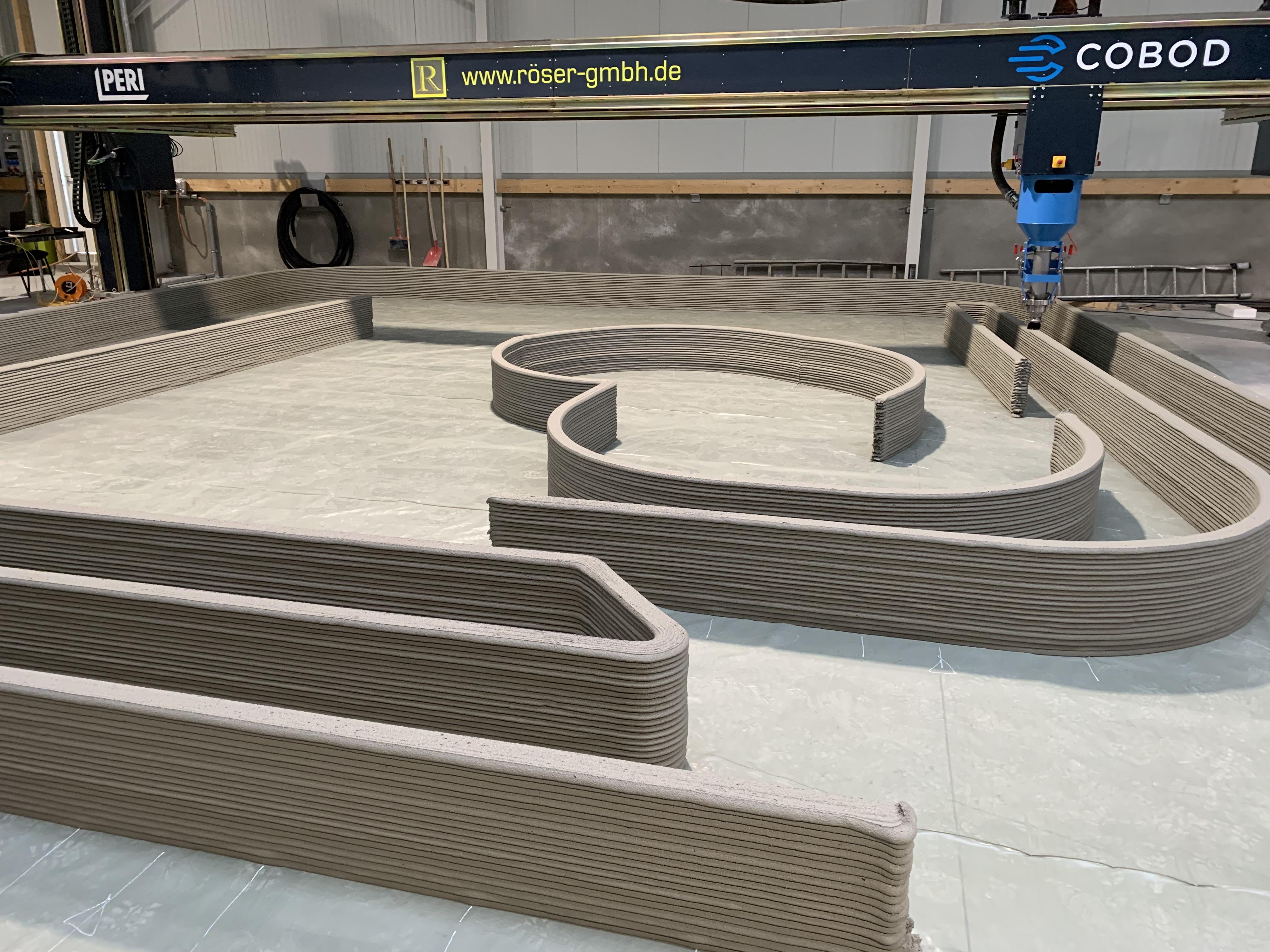 3D Betondrucker
