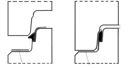 flacher Lastübertragungsring