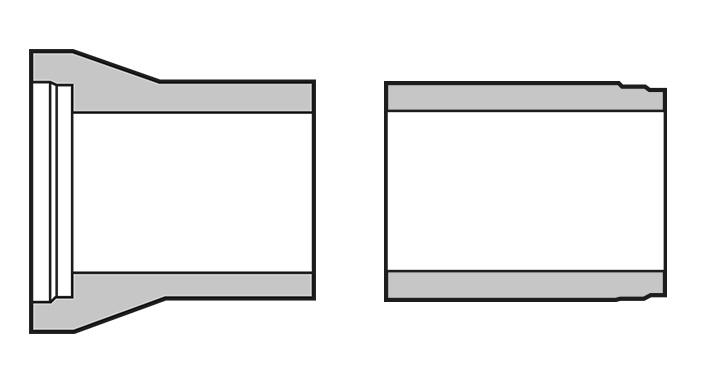 Schachtanschlussstück